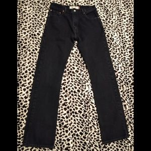 "Levi's Jeans - Levi's 517 Retro ""Mom Jean"" Boot Cut Black"
